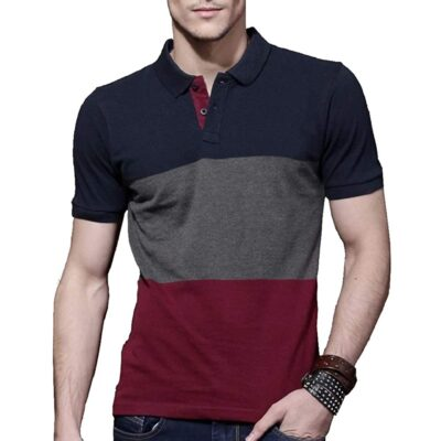 FashCloud Men's Regular Fit Polos