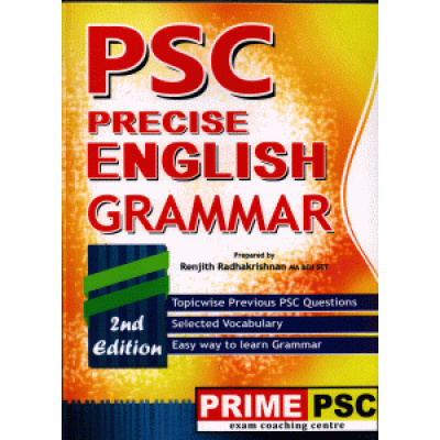 PSC Precise English Grammar