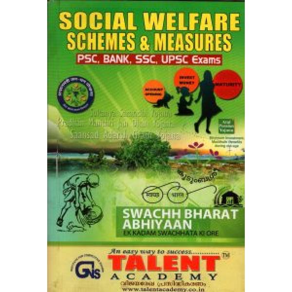 SOCIAL WELFARE SCHEMES &MEASURES for  PSC ,Bank,ssc,upsc Exams