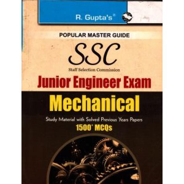 SSC Junior Engineer Mechanical