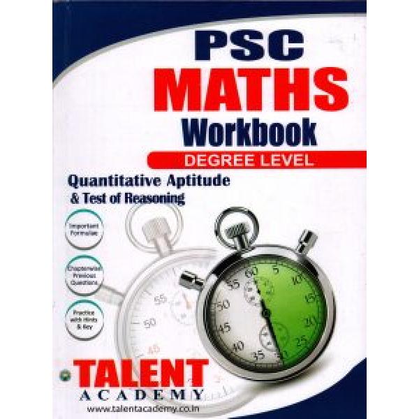 PSC MATHS WORK BOOK Degree Level